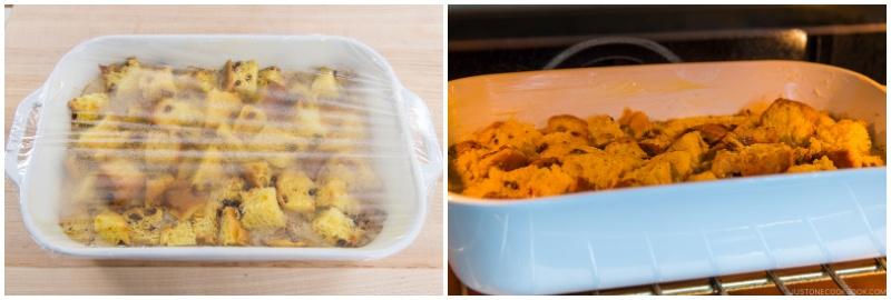 Panettone Bread Pudding 9