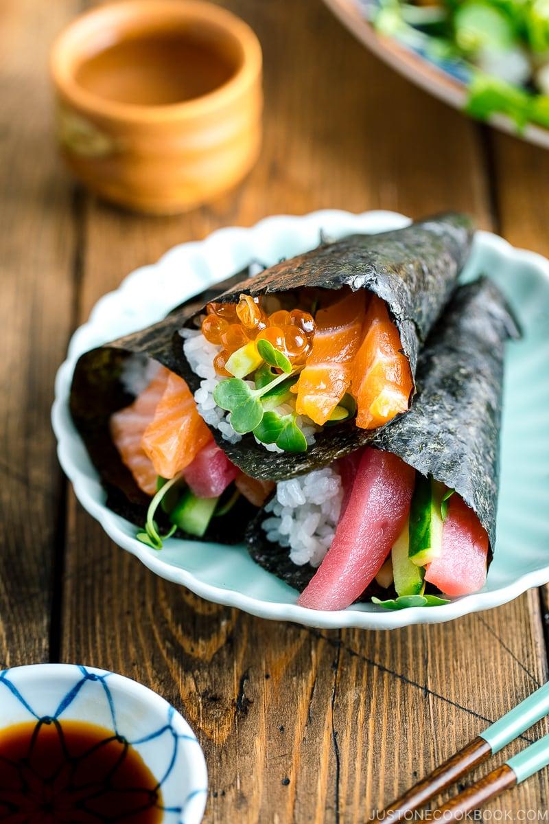 Temaki Sushi | Easy Japanese Recipes at JustOneCookbook.com