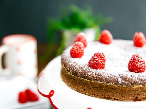 Chocolate Gateau Chocolate Cake ガトーショコラ Just One Cookbook