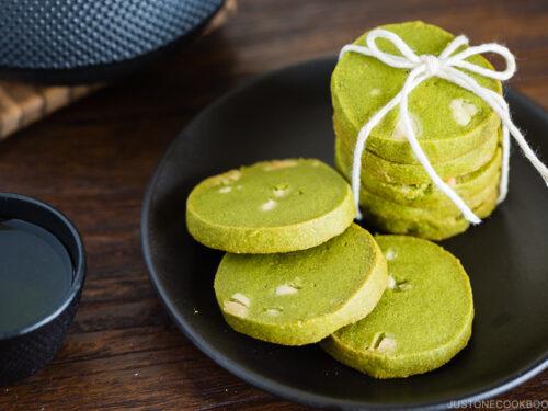Matcha Green Tea Cookies 抹茶クッキー • Just One Cookbook