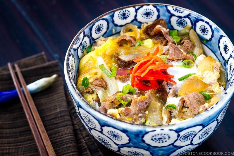 Gyudon Japanese Beef Bowl 牛丼 Just One Cookbook