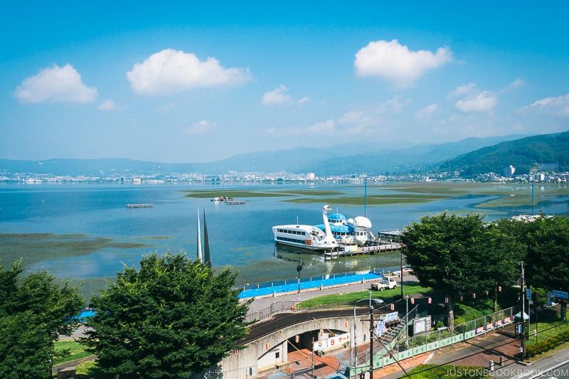 view of Lake Suwa