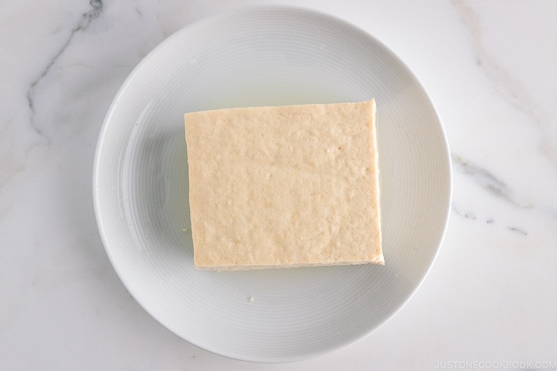 Momen Tofu (Regular Tofu) | Easy Japanese Recipes at JustOneCookbook.com
