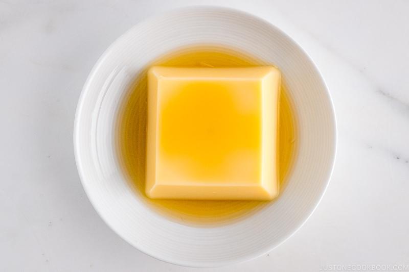 Tamago Tofu (Egg Custard) | Easy Japanese Recipes at JustOneCookbook.com