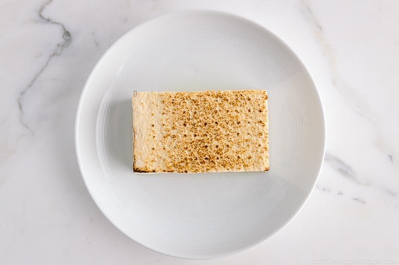 Yaki Tofu (Broiled Firm Tofu) | Easy Japanese Recipes at JustOneCookbook.com