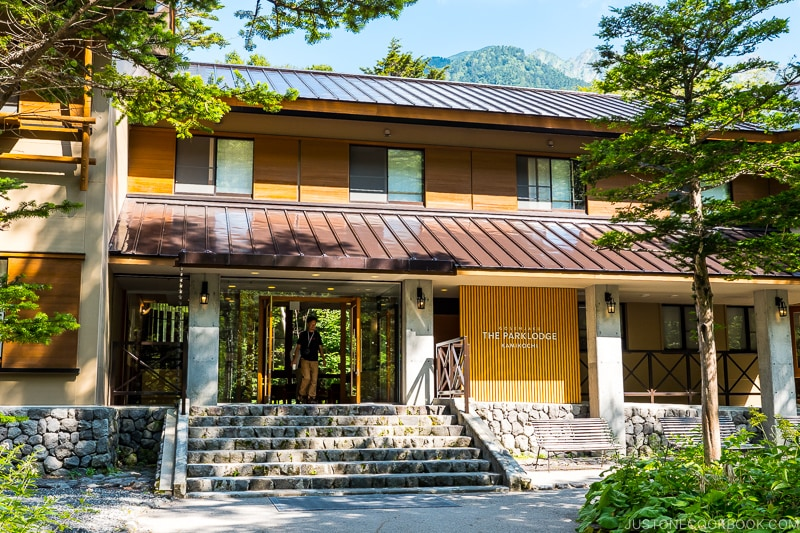 exterior of The Parklodge Kamikochi
