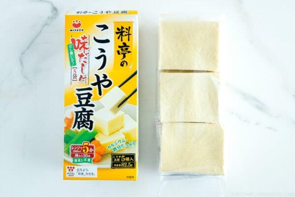 Koya Tofu (Freeze Dried Tofu)