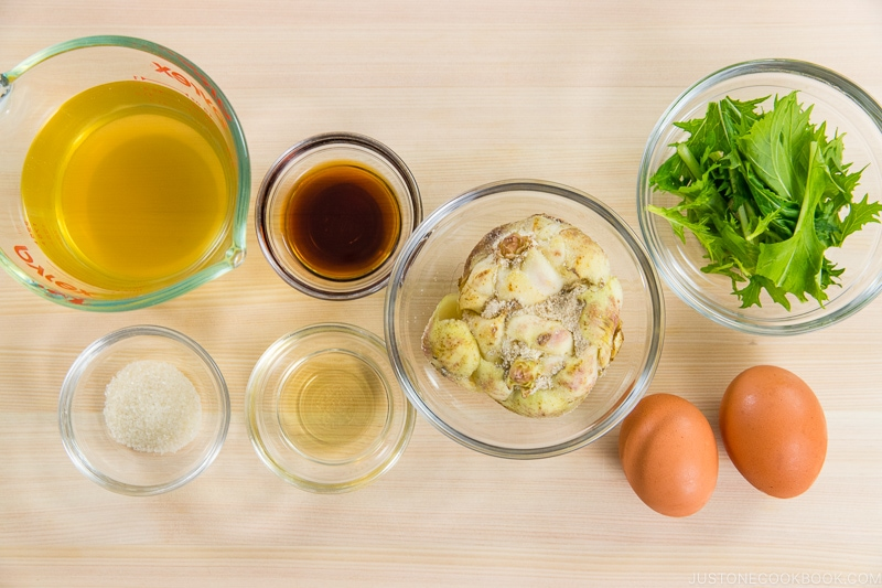 Lily Bulb Tamagotoji Ingredients