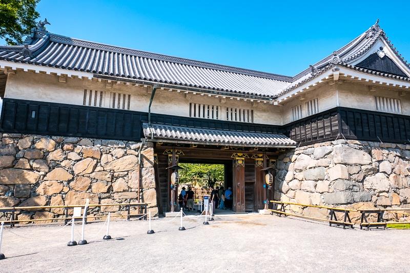 Matsumoto-jō Kuromon