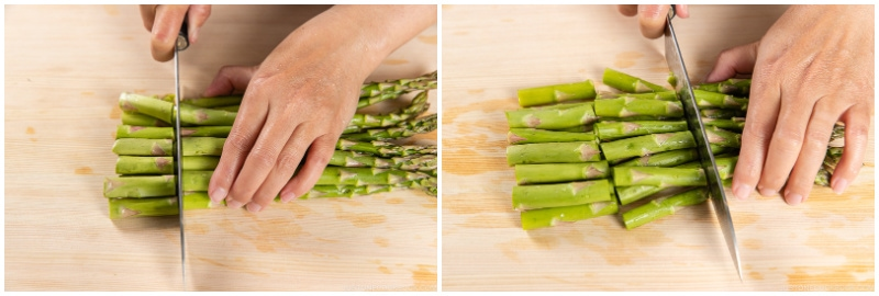 Asparagus with Miso Dressing 2