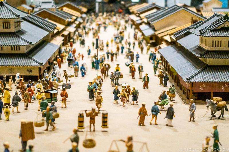 scene of life during Edo period