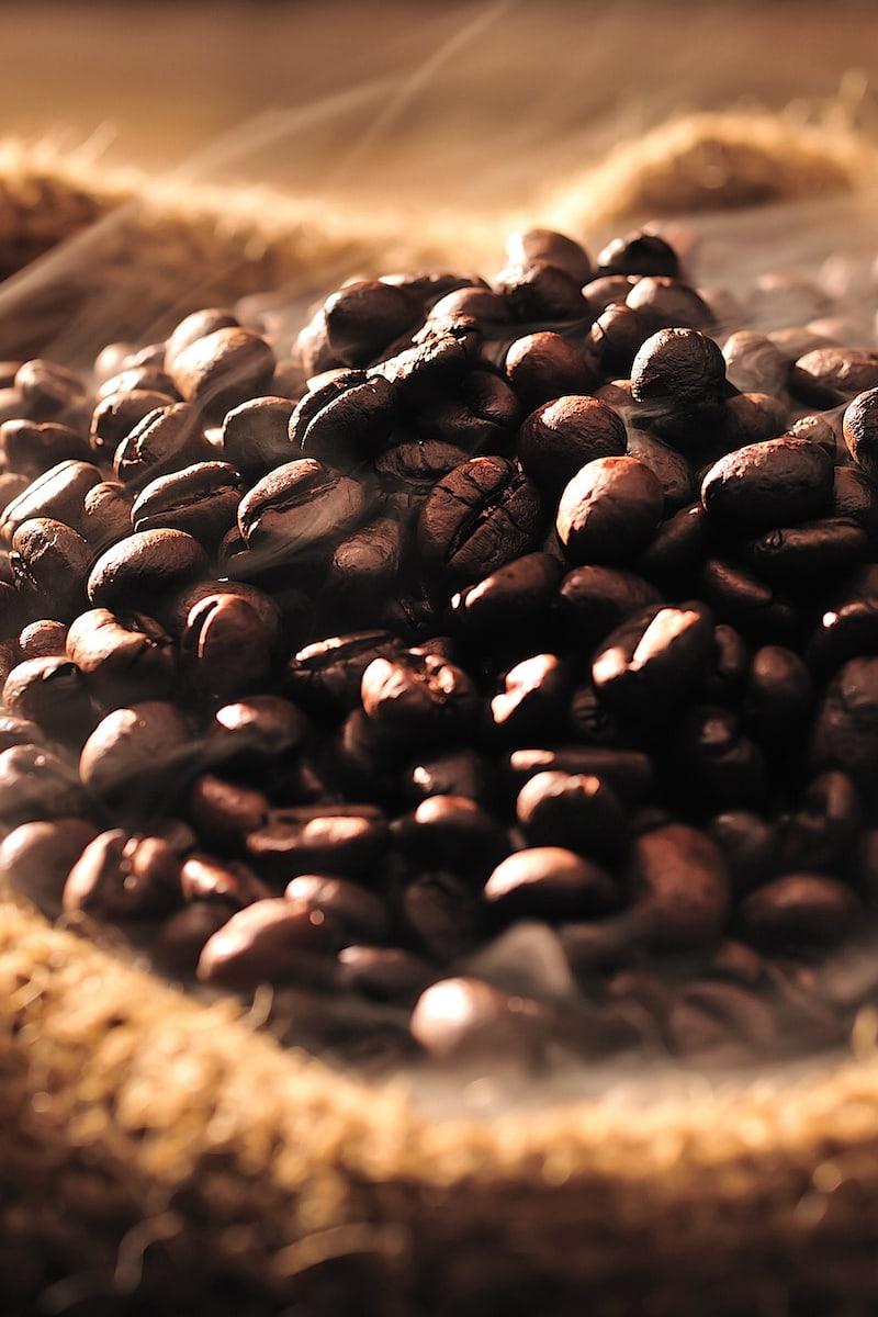 image of japanese sumiyaki roasted coffee beans