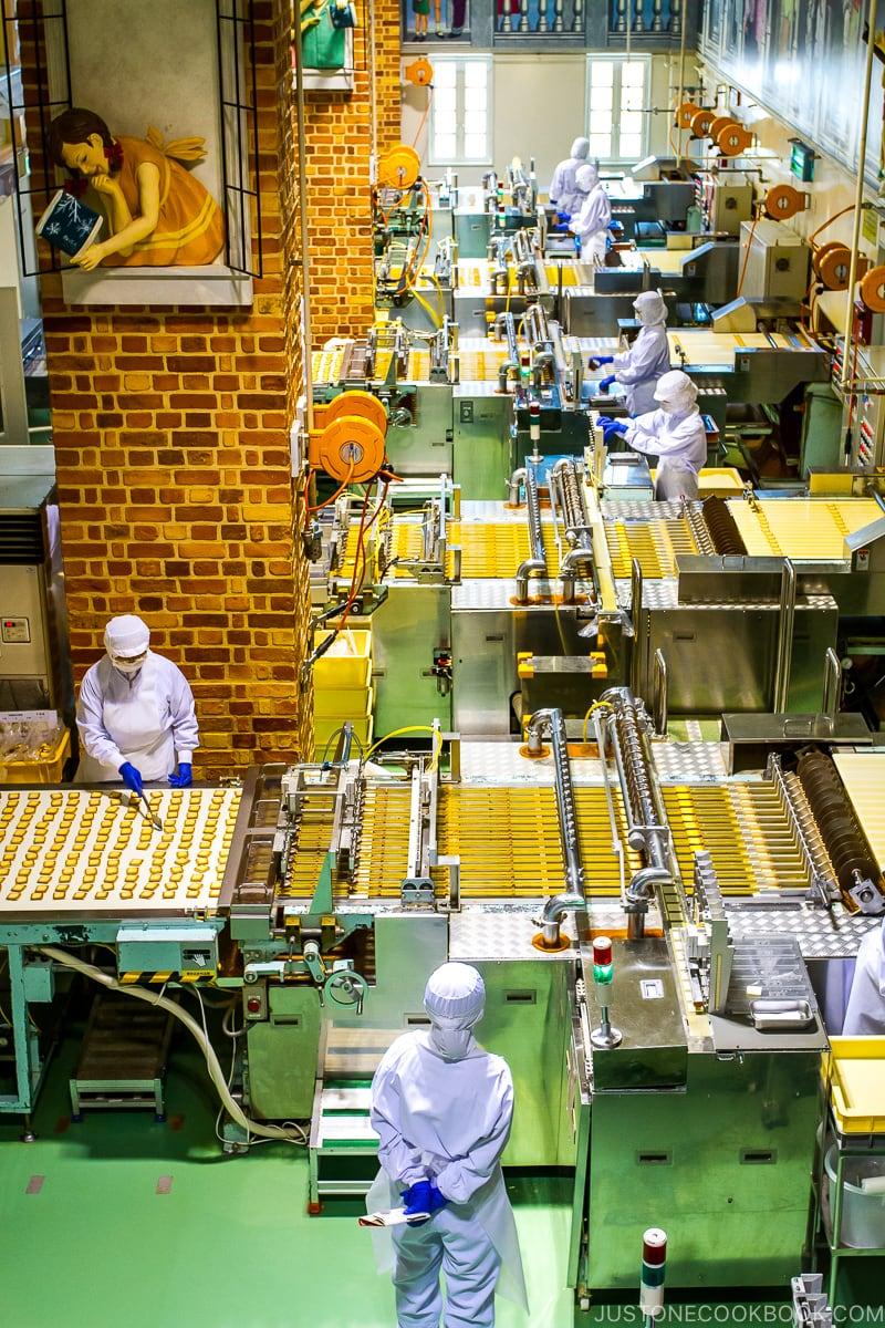 Shiroikoibito Chocolate Factory