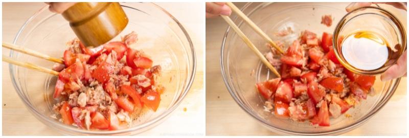 Cold Tuna Tomato Somen 4