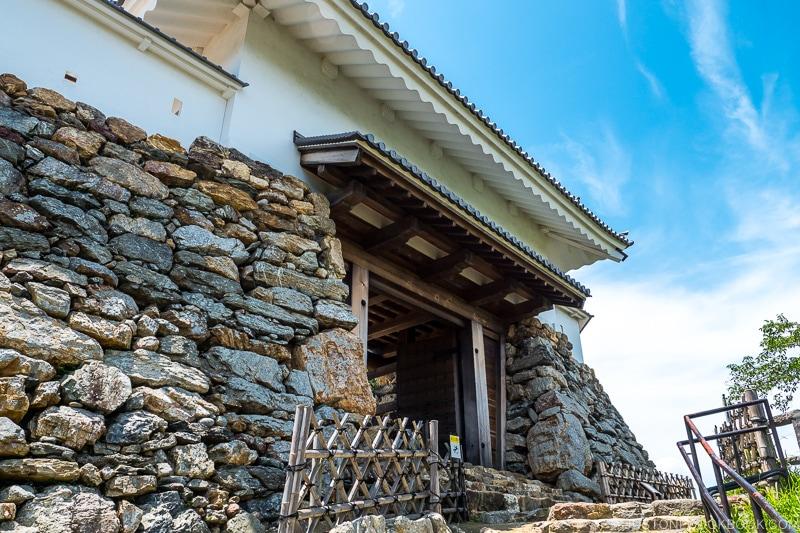 entrance gate to Hamamatsu Castle