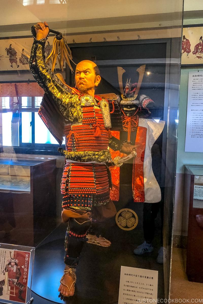 a statue of Tokugawa Ieyasu
