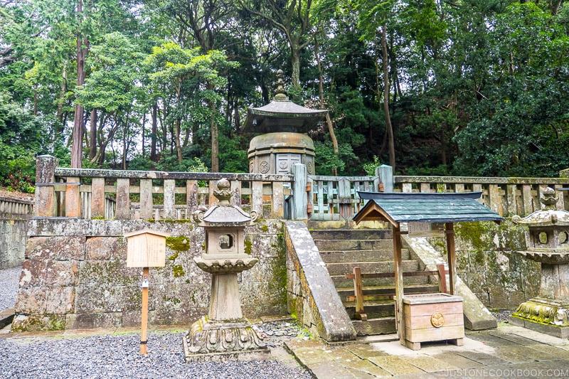 The mausoleum of Tokugawa Ieyasu