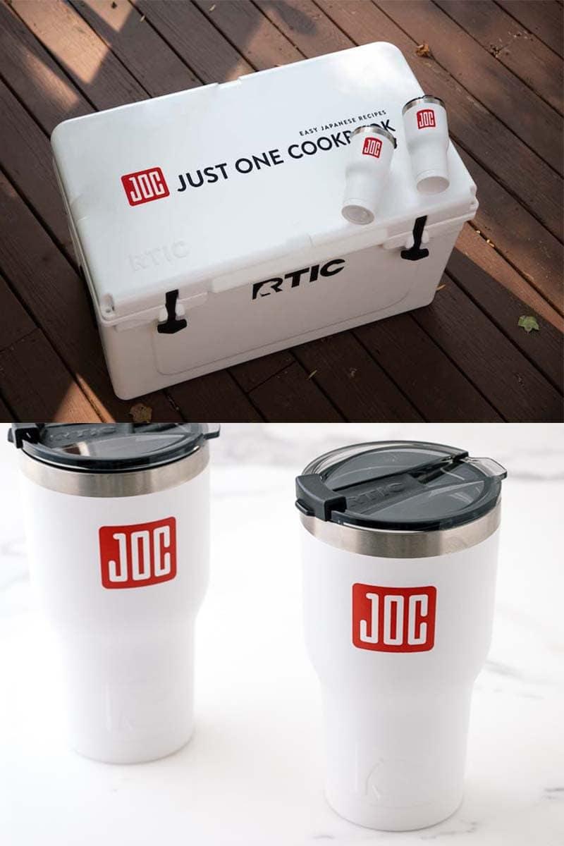 RTIC x JOC Customized Cooler & Tumble Set