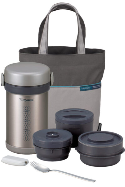 Zojirushi Ms Bento (SL-NCE09) featuring 3 inner bowls