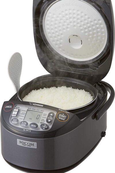 Product image of Zojirushi Umami® Micom Rice Cooker & Warmer NL-GAC10 BM